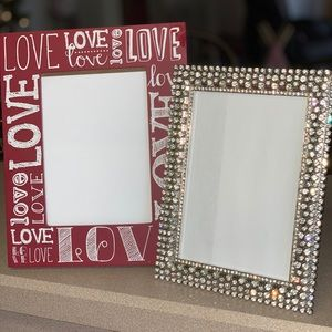 Valentine's Day Picture frames 5x7